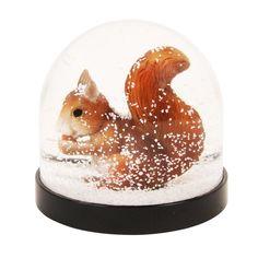 Snekugle med Egern / Snow globe Squirrel