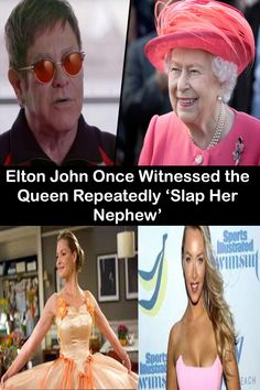 In the wake of Scotland's complete ban on smacking children, music legend Elton John has revealed a somewhat problematic story about the Queen of England and her parenting techniques. Pinterest For Men, Pinterest Hair, 30th Birthday Quotes, Nephew And Aunt, Baby Dress Design, Embarrassing Moments, Queen Band, Trending Today, Diy Gifts For Boyfriend