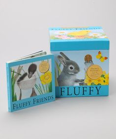 Take a look at this Fluffy Friends Board Book Set by Silver Dolphin Books on #zulily today!