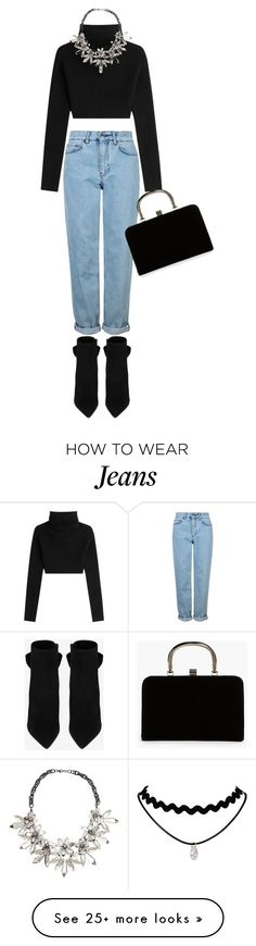"""""""Untitled #17"""" by bettyaggna on Polyvore featuring Topshop, Valentino, Yves Saint Laurent, Boohoo and John Lewis"""