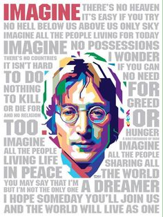 John Lennon-Imagine subtitulado español e ingles Foto Beatles, The Beatles 1, Beatles Art, Beatles Poster, John Lennon Quotes, John Lennon And Yoko, John Lennon Beatles, Imagine John Lennon Lyrics, Rock And Roll
