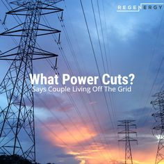 What power cuts? says couple living off the grid Renewable Energy, Solar Energy, Solar Power, Pv Panels, Solar Panels, Water Geyser, Cell Phone App, Energy Crisis, Sun Power