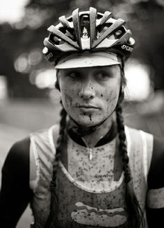 Julie. 2011 Womens Single Speed Cyclocross World Champion.  by Jason Perry Photo