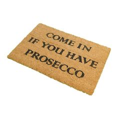 Artsy Doormats - Prosecco Door Mat