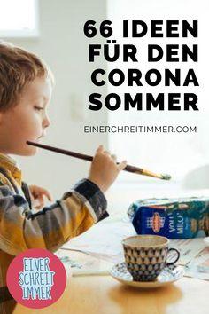Du brauchst Bastelideen und DIY-Tipps für deine Kita und Kindergartenkinder im Corona-Sommer? Diese Dinge machen deinen Kindern Spaß und fördern die Motorik.   #einerschreitimmer #mamablog #corona #kindergarten #diy #kita #basteln 2 Kind, Baby Hacks, Humor, Ideas, Corona, Kids Fun, User Guide, Knowledge, Cheer