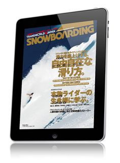 Transworld Snowboarding Japan+ iPad digital magazine