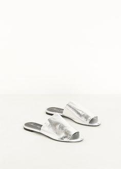 Robert Clergerie Gato Sandal (Silver)