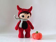 Ravelry: The Little Red Devil pattern by Serah Basnet ....Free pattern