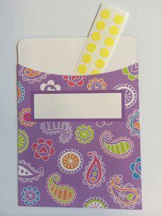 Dashboard Pocket for EC Life Planner by EverythingCreativeEC, $2.00