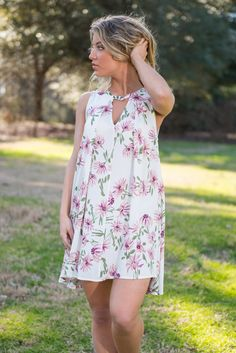 """""""Miss You The Most Dress, Ivory"""" 
