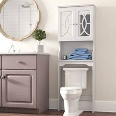 Looking for Robinette 24 W x 68 H Over Toilet Storage Willa Arlo Interiors ? Check out our picks for the Robinette 24 W x 68 H Over Toilet Storage Willa Arlo Interiors from the popular stores - all in one. Toilet Storage, Drawer Hardware, Storage Spaces, Bathroom Space Saver, Open Display Shelf, Storage Shelves, Toilet Design, Storage, Shelving