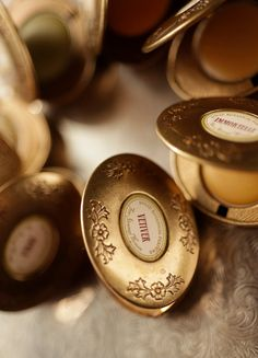 Single Note Solid Perfume in brass locket by ForStrangeWomen, $30.00