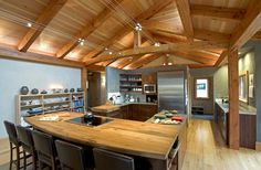 New Energy Works Timberframers - Timber Home Living