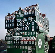 Zaandam/Amsterdam, Niederlande: Inntel Hotel DZ ab 84.- Euro www.inntelhotelsamsterdamzaandam.nl