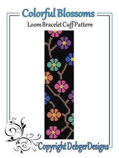 bead weaving patterns for beginners Bead Loom Patterns, Beaded Jewelry Patterns, Peyote Patterns, Weaving Patterns, Cross Stitch Patterns, Mosaic Patterns, Loom Bracelet Patterns, Art Patterns, Design Patterns