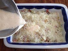 Πίτα με πράσο μπέικον και τυρί σαν σουφλέ πανεύκολη Cooking, Food, Kitchen, Eten, Meals, Cuisine, Diet