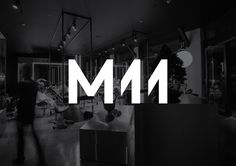 Logo for Auckland-based luxe salon M11 designed by Inhouse, New Zealand