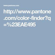 http://www.pantone.com/color-finder?q=%23EAE495