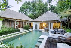 Bali villa for sale and Lease. We provide the largest listing of villas for sale on Bali. Buy real estate, property and villas freehold or leasehold on Bali. Backyard Pool Designs, Swimming Pools Backyard, Swimming Pool Designs, Villa Design, House Design, Ubud, Bali Style Home, Balinese Villa, Villa Pool