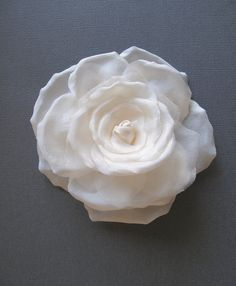 Celeste Silk Hair Flower