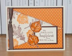Gently Falling CC397 by Christy S. - Cards and Paper Crafts at Splitcoaststampers