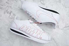 b820c72a815 Nike Cortez Kenny 1 Kendrick Lamar Damn White Gym Red - Others - Nike