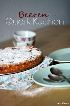 Beeren-Quarkkuchen