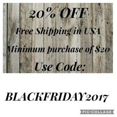 Black Friday sale 2017  Thesouthernflame.etsy.com