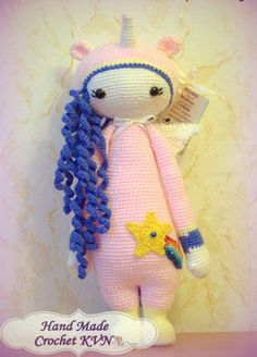 Вязание крючком для души Amigurumi Doll, Dinosaur Stuffed Animal, Dolls, Knitting, Creative, Animals, Baby Dolls, Toys, Crocheting