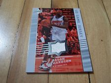 JASON RICHARDSON 2008-09 Upper Deck #GA-JR UD Game Jersey Card Relic Mint