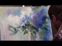 Igor Sakharov: Iris (artist video tutorial painting drawing lesson)