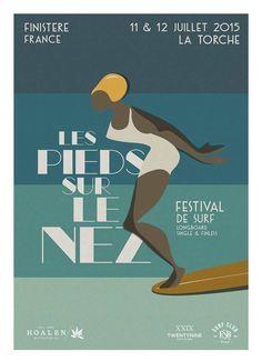 Festival de surf Les pieds sur le nez La Torche Bretagne.