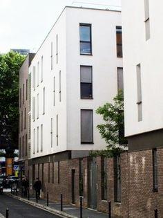 Building Exterior, Building Design, London Brick, Facade Architecture, Maje, Urban Design, Townhouse, Condo, Brick