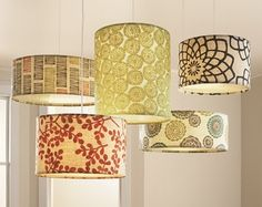 I Like The Mix Of Drum Shades For Large Chandelier!