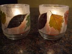 If I can find someone with baby food jars, this would be a fun classroom craft.