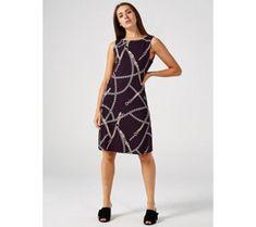 Ronni Nicole Sleeveless Puff Print Dress - 179364 Qvc Uk, Ronni Nicole, Just Shop, Shopping, Dresses, Fashion, Vestidos, Moda, Fashion Styles