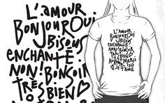 I HEART FRENCH by TheLoveShop