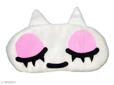 Checkout this latest Eye Mask Product Name: *Nitsha Velvet  Blind Sleeping Cartoon Character Eye mask shade for Men Women Girls Boys Kids - Pink and White Model No.25* Product Name: Nitsha Velvet  Blind Sleeping Cartoon Character Eye mask shade for Men Women Girls Boys Kids - Pink and White Model No.25 Brand Name: Skinnatura Multipack: 1 Country of Origin: India Easy Returns Available In Case Of Any Issue   Catalog Rating: ★4 (218)  Catalog Name: Nitsha Unique Eye Mask CatalogID_3518289 C183-SC2002 Code: 181-17460609-996