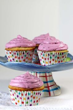 Blueberry Cupcakes - Recipes Food and Cooking
