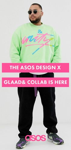 e8d2a920d5d90 Peep the new ASOS DESIGN x glaad& drop this Pride month for everything from  snake-