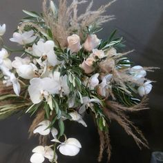 Phalaenopsis Orchid, Orchids, Pampas Grass, Thessaloniki, Bridal Bouquets, Our Love, Your Design, Floral Wreath, Roses