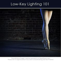 Get started with Low-Key Lighting in your #photography!