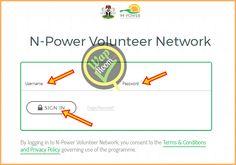 NPOWER LOGIN PORTAL - N-Power Website Log In Guidelines