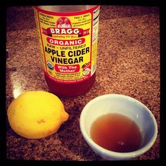 Trade coffee for raw apple cider vinegar with lemon! This stimulates digestion of toxins and alkalizes the body.