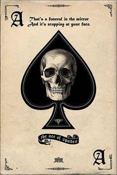 Pyramid America Ace of Spades Retro Art Print Poster Tattoo Motive, Card Tattoo, Ace Of Spades Tattoo, Neue Tattoos, Body Art Tattoos, La Santa Muerte Tattoo, Ace Card, Playing Cards Art, Tattoo Ideas