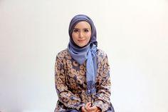 very creative and elegant style - hijab tutorial