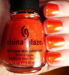 China Glaze - Orange Marmalade