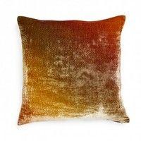 Kevin O'Brien Ombre Gradient Velvet Pillow