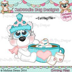 Cutie KaToodles - Winter Hot Cocoa Bear
