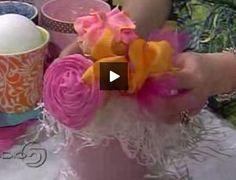 VIDEO: DIY Cupcake Bouquet. Excellent!